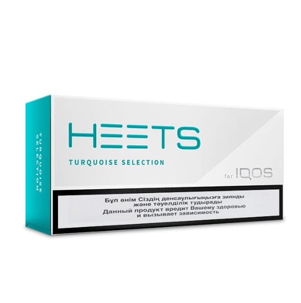 BEST IQOS HEETS TURQUOISE SELECTION (10pack)